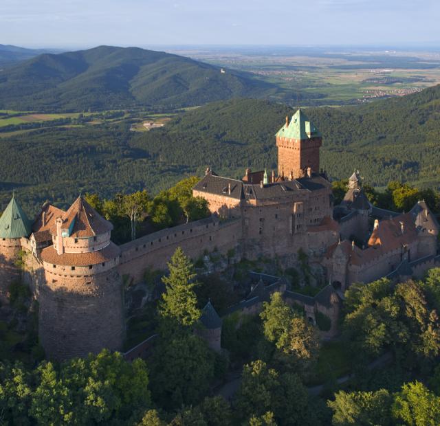 Haut Koenigsbourg Castle